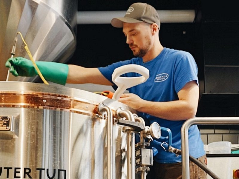 The Faces of Iron Hill: Ben Schamberg, Head Brewer, Philadelphia