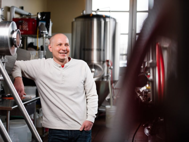 The Faces of Iron Hill: Justin Sproul, Regional Brewer
