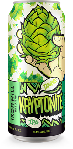 Kryptonite Double IPA Can