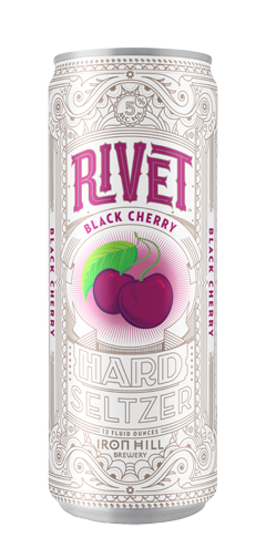 Rivet Hard Seltzer - Black Cherry Can