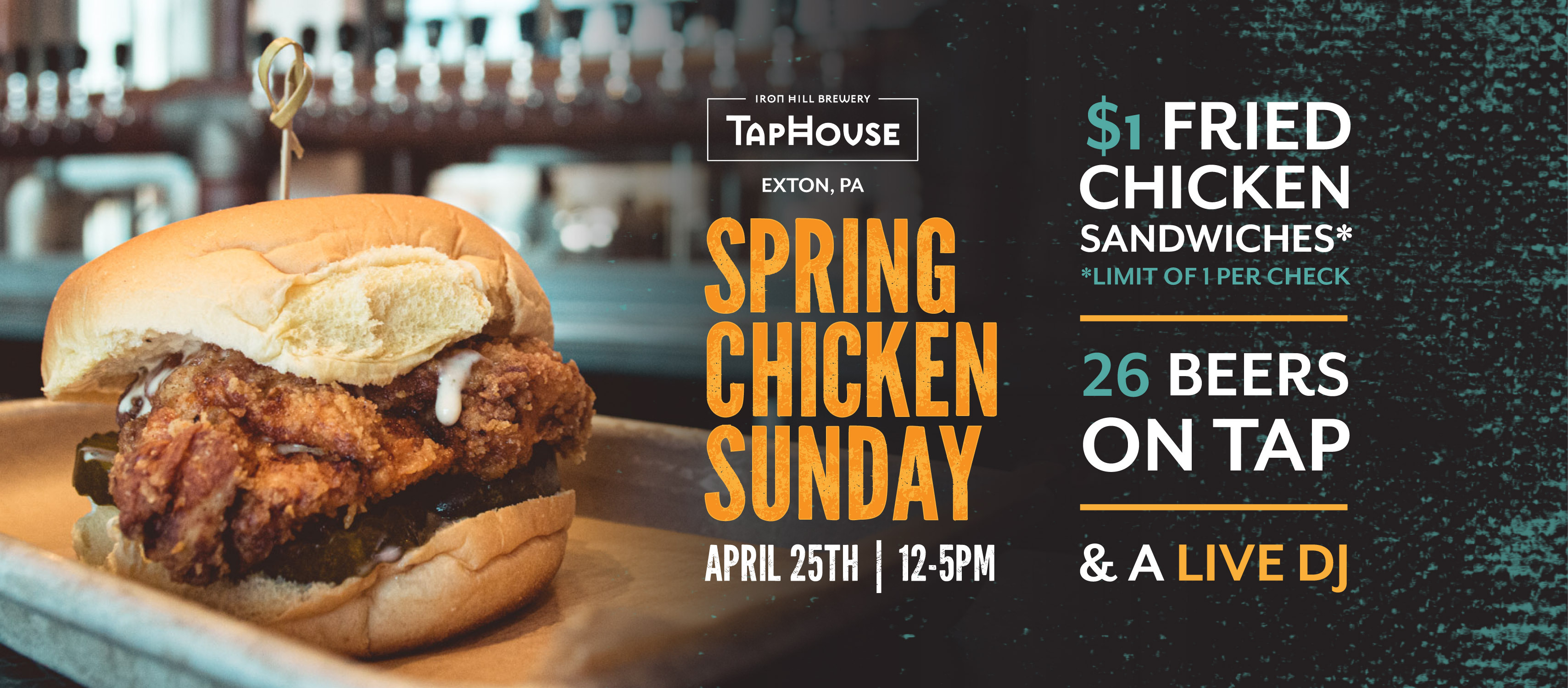 TapHouse - Spring Chicken Sunday