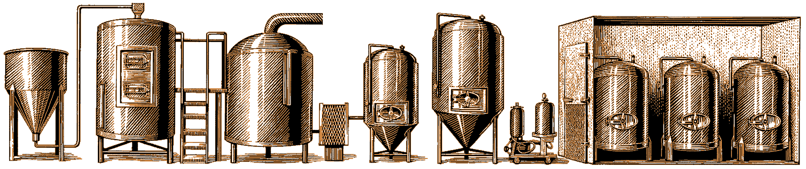 Iron Hill Brewery & Restaurant - Brew Process Graphic